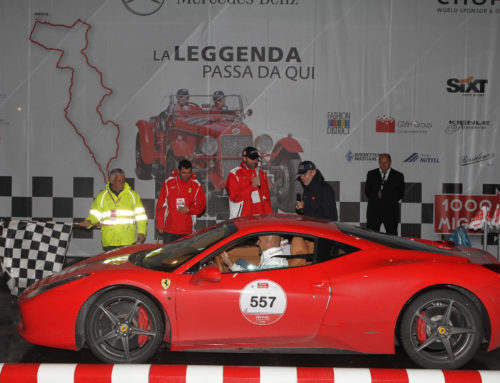 Tribute to 1000 Miglia 2015